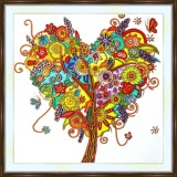 Bead embroidery kit «A-0300 The Love Tree»