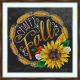 Bead embroidery kit «A-0420 Fall Harvest»