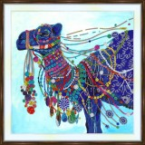 Bead embroidery kit «A-0460 Bedecked Camel»