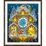 Bead embroidery kit «A-0464 Santas'House»