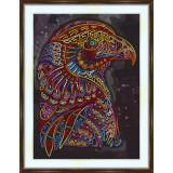 Bead embroidery kit «A-0514 Regal Eagle»