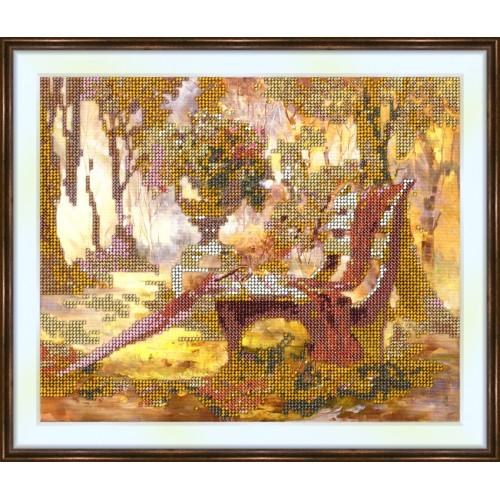 Bead embroidery kit «K-0008 Golden Autumn»