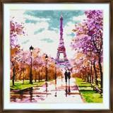 Cross stitch kit «S-0005 Strolling in Paris»
