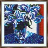 Cross stitch kit «S-0015 Blue Lilies»
