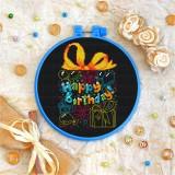 Cross stitch kit «T-0044 Happy Birthday 3»