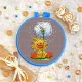 Cross stitch kit «T-0054 Dandelion Duckling»