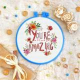 Cross stitch kit «T-0074 You're Amazing»