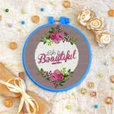 Cross stitch kit «T-0084 Life is Beautiful»
