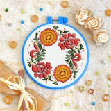 Cross stitch kit «T-0144 Flower Ornament»