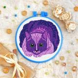 Cross stitch kit «T-0147 Mandala Cat»