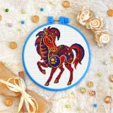 Cross stitch kit «T-0169 Mandala Horse»