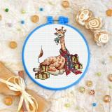 Cross stitch kit «T-0235 Giraffe»