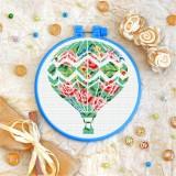 Cross stitch kit «T-0259 Flower Balloon»