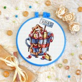 Cross stitch kit «T-0280 Xmas Chocolate»