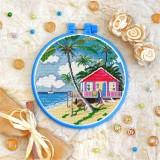 Cross stitch kit «T-0318 Beach House»