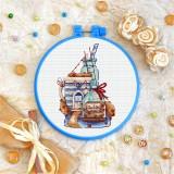 Cross stitch kit «T-0329 City of Cookies»