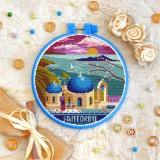 Cross stitch kit «T-0417 Santorini»