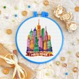 Cross stitch kit «T-0437 New York»