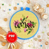 Cross stitch pattern «pdf-T-0019 Amor»