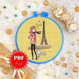 Cross stitch pattern «pdf-T-0049 Paris»