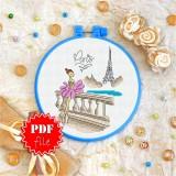 Cross stitch pattern «pdf-T-0109 Paris»