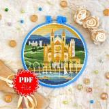 Cross stitch pattern «pdf-T-0408 Almudaina Palace»