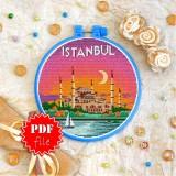 Cross stitch pattern «pdf-T-0418 Istanbul»