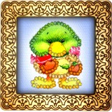 Magnet bead embroidery kit «M-0057 Duckling»