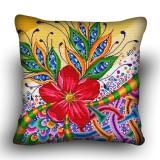Pillow cross stitch kit «H-0034 Meditation Flower»