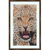 Bead embroidery kit «A-0049 Jaguar»