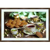 Bead embroidery kit «A-0110 Tea and Crumpets»