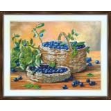 Bead embroidery kit «A-0170 Blackberries 'n Blueberries»