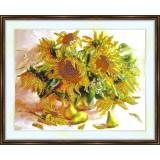 Bead embroidery kit «A-0230 Sunny Sunflowers»