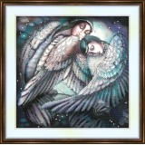 Bead embroidery kit «A-0250 Dreaming Angels»