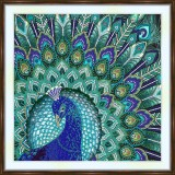 Bead embroidery kit «A-0291 Glorious Peacock»
