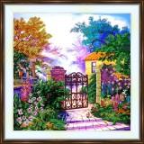 Bead embroidery kit «A-0351 Come Enter My Garden»