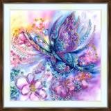 Bead embroidery kit «A-0371 Fairy Buterfly»