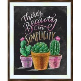 Bead embroidery kit «A-0421 Simply Cacti»