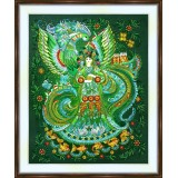 Bead embroidery kit «A-0485 Fantasy in Green»