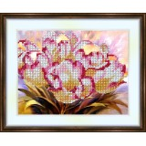 Bead embroidery kit «K-0049 Tulips»