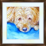 Bead embroidery kit «K-0069 Sweet Doggie Face»