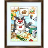 Bead embroidery kit «K-0109 The Chef»