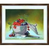Bead embroidery kit «K-0139 Raspberries 'n Figs»