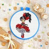 Cross stitch kit «T-0115 Red Bow &Petticoats»