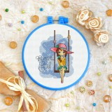 Cross stitch kit «T-0125 Romantic Girl»