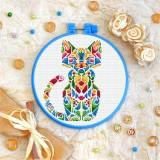 Cross stitch kit «T-0191 Mandala Kitty»