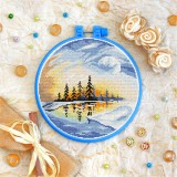 Cross stitch kit «T-0330 Winter Sunrise»