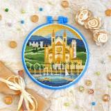 Cross stitch kit «T-0408 Almudaina Palace»