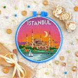 Cross stitch kit «T-0418 Istanbul»