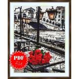 Cross stitch pattern «pdf-S-0031 Venice View»